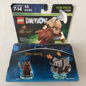 LEGO Dimensions Lord of the Rings Gimli set - New